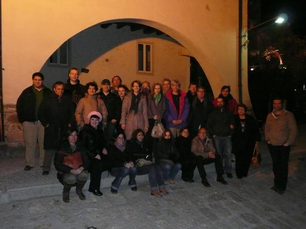 Photo consortium Mars 2013 Ispra